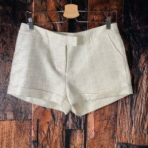 Romeo & Juliet Couture Shimmery Textured Shorts